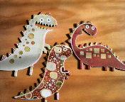 恐竜のアクセント