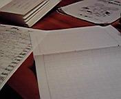 宿題追い込み…